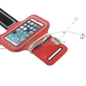 Jogy bežecké puzdro na mobil do 125 x 60 mm - červené - 5