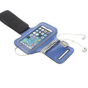 Jogy bežecké puzdro na mobil do 125 x 60 mm - modré - 5