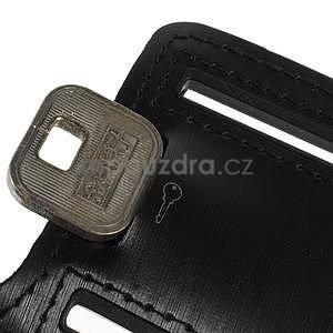 Soft puzdro na mobil vhodné pre telefóny do 160 x 85 mm - čierne - 5