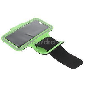 Gymfit športové puzdro pre telefón do 125 x 60 mm - zelené - 5