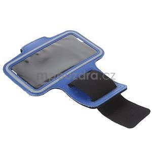 Gymfit športové puzdro pre telefón do 125 x 60 mm - tmavomodré - 5