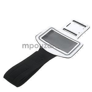Gymfit športové puzdro pre telefón do 125 x 60 mm - biele - 5