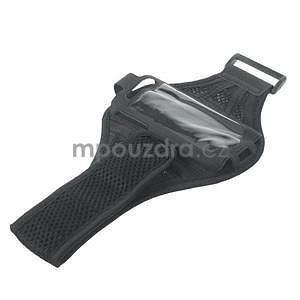 Absorb športové puzdro na telefón do veľkosti 125 x 60 mm - čierne - 5