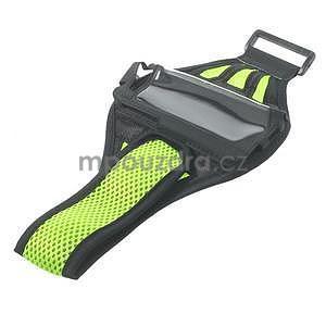 Absorb športové puzdro na telefón do veľkosti 125 x 60 mm -  zelené - 5