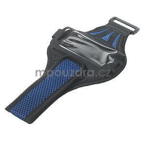 Absorb športové puzdro na telefón do veľkosti 125 x 60 mm -  modré - 5