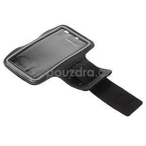 Bežecké puzdro na ruku pre mobil do veľkosti 152 x 80 mm - čierne - 5