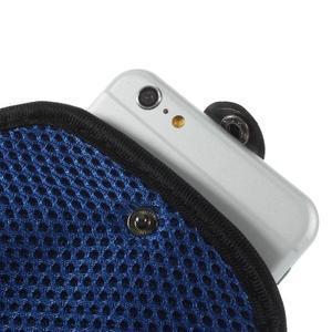 Fit puzdro na mobil až do veľkosti 160 x 85 mm - modré - 5