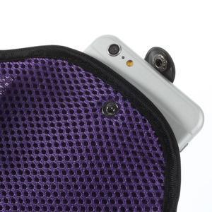 Fit puzdro na mobil až do veľkosti 160 x 85 mm - fialové - 5