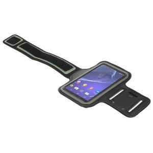 Všestranné puzdro na ruku do rozmeru telefónu 146 x 73 mm - čierne - 5