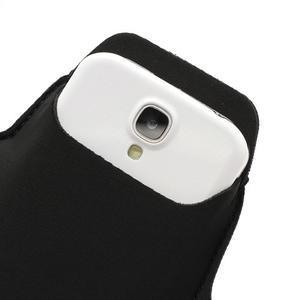 Športové puzdro na ruku až do veľkosti mobilu 140 x 70 mm - čierne - 5