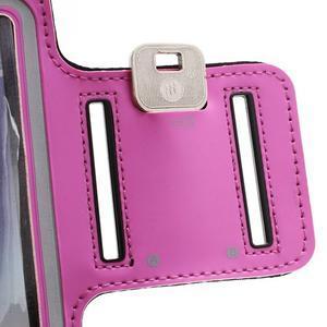 Športové puzdro na ruku až do veľkosti mobilu 140 x 70 mm - rose - 5