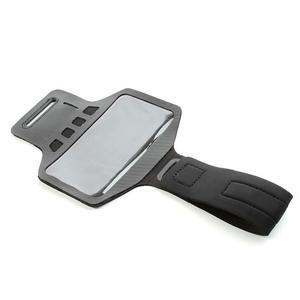 Sports Gym puzdro na ruku pre veľkosť mobilu až 140 x 70 mm - čierne - 5