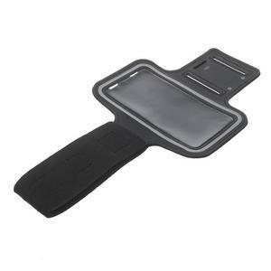 Fitsport puzdro na ruku pre mobil do veľkosti až 145 x 73 mm - čierne - 5