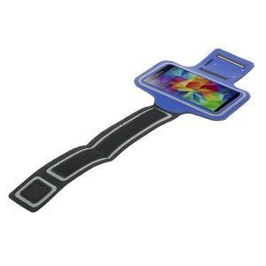 Fitsport puzdro na ruku pre mobil do veľkosti až 145 x 73 mm - tmavomodré - 5