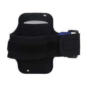 JogyFit športové puzdro na telefón do veľkosti 115 x 60 mm - čierne - 5
