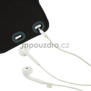 Soft puzdro na mobil vhodné pre telefóny do 160 x 85 mm - tmavomodré - 5