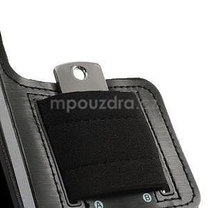 Run bežecké puzdro na mobil do veľkosti 131 x 65 mm - čierne - 5