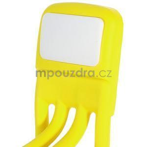 Tvarovatelný stojánek na mobil, žltý - 5