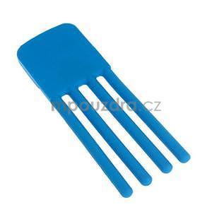 Tvarovatelný stojánek na mobil, modrý - 5