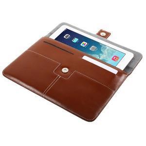 Business univerzálne puzdro pre tablet do rozmerov 226 x 149 mm - hnedé - 5