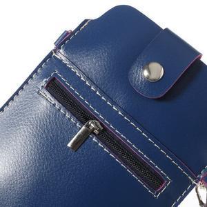 Univerzálne puzdro/kapsička pre mobil do rozmerov 180 x 110 mm - modré - 5