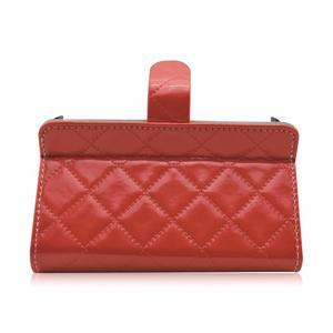 Luxury univerzálne puzdro pre mobil do 148 x 76 x 21 mm - červené - 5