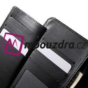 Luxusné univerzálne puzdro pre telefony do 140 x 70 x 12 mm - čierne - 5
