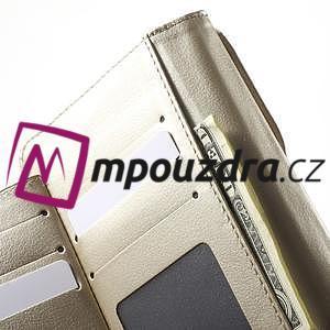 Luxusné univerzálne puzdro pre telefony do 140 x 70 x 12 mm - zlaté - 5