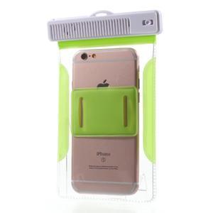 Nox7 vodotěsný obal na mobil do rozměru 16.5 x 9.5 cm - zelený - 5