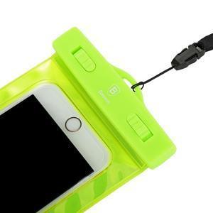 Base IPX8 vodotěsný obal na mobil do 158 x 78 mm - zelený - 5