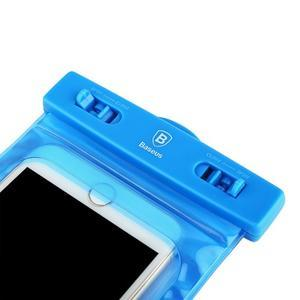 Base IPX8 vodotěsný obal na mobil do 158 x 78 mm - modrý - 5