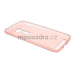 Ultra tenký slim gélový obal na Asus Zenfone 2 ZE500CL - červený - 5