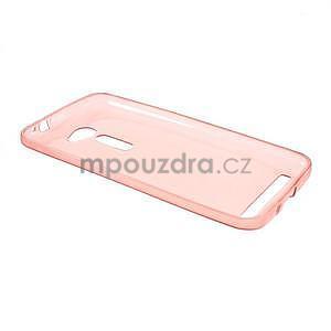 Ultra tenký slim gélový obal pre Asus Zenfone 2 ZE500CL - červený - 5