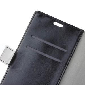 Colory knížkové pouzdro na Lenovo K5 Note - černé - 6