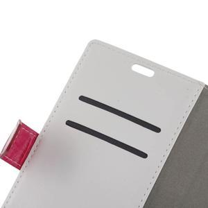 Colory knížkové pouzdro na Lenovo K5 Note - bílé - 6