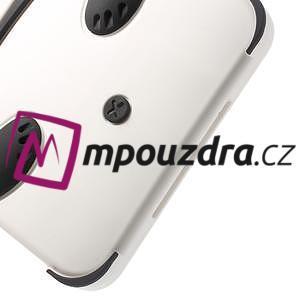 3D silikónové puzdro pre iPad mini 2 - čierná panda - 6