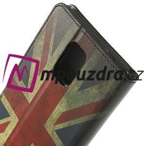 Peňaženkové puzdro na Samsung Galaxy Note 4- UK vlajka - 6