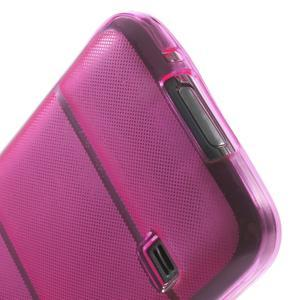 Gélové puzdro pre Samsung Galaxy S5 mini G-800- vesta ružová - 6