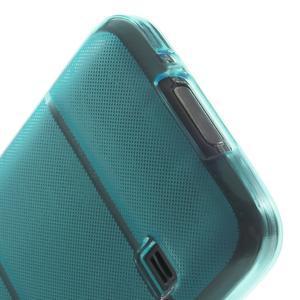 Gelové pouzdro na Samsung Galaxy S5 mini G-800- vesta světlemodrá - 6