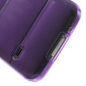 Gélové puzdro pre Samsung Galaxy S5 mini G-800- vesta fialová - 6
