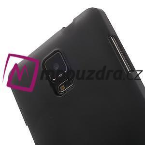 Gélové puzdro pre Samsung Galaxy Note 4- čierné - 6