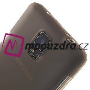 Gélové puzdro na Samsung Galaxy Note 4- šedé - 6