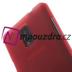 Gélové puzdro na Samsung Galaxy Note 4- červené - 6
