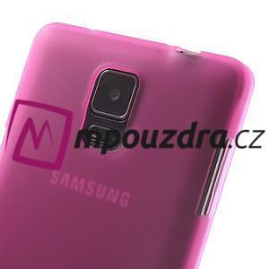 Gélové puzdro pre Samsung Galaxy Note 4- ružové - 6