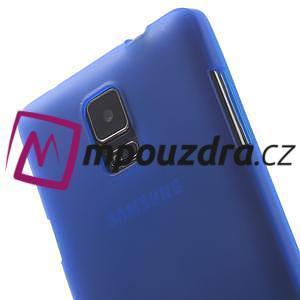 Gélové puzdro na Samsung Galaxy Note 4- modré - 6