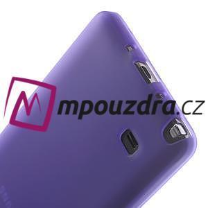 Gélové puzdro pre Samsung Galaxy Note 4- fialové - 6