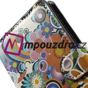 Peňaženkové puzdro na Sony Xperia Z3 D6603 - farebné vzory - 6