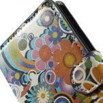 Peňaženkové puzdro na Sony Xperia Z3 D6603 - farebné vzory - 6/6