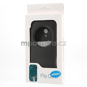 Flipové puzdro na Asus Zenfone 5 - čierné - 6