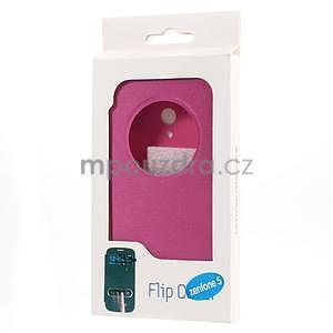 Flipové puzdro na Asus Zenfone 5 - růžové - 6